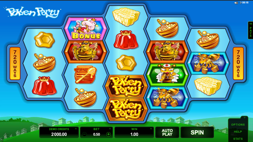 Pollen Party Free Slots.png