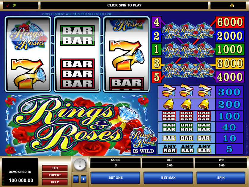 Rings & Roses Free Slots.png