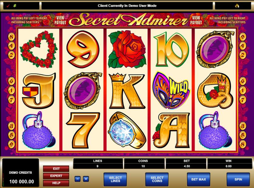 Secret Admirer Free Slots.png