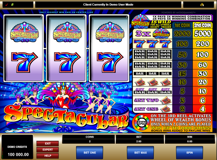 Spectacular Free Slots.png
