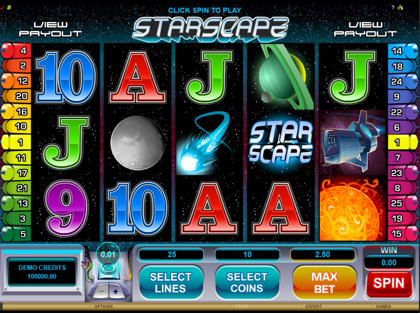 Starscape Free Slots.png