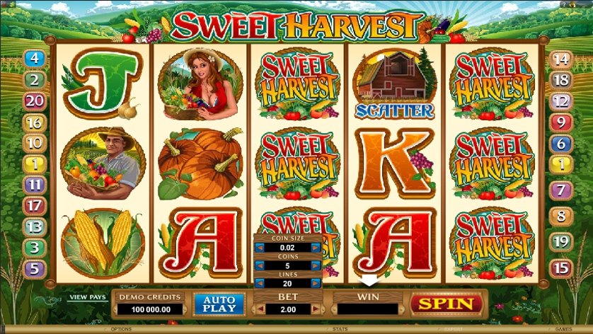 Sweet Harvest Free Slots.png