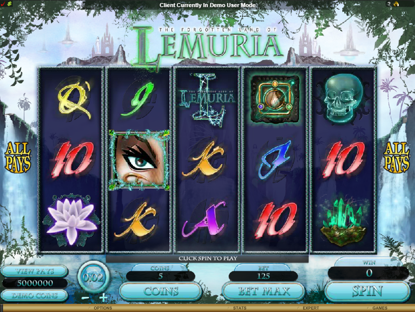 The Forgotten Land of Lemuria Free Slots.png