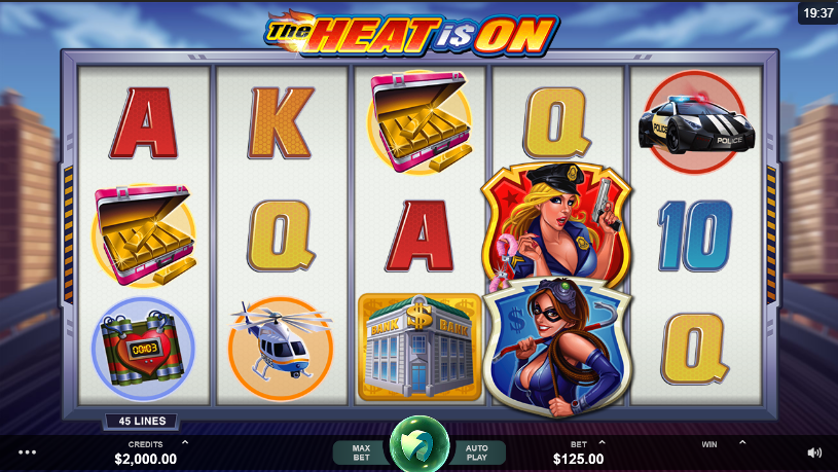 The Heat Is On Free Slots.png