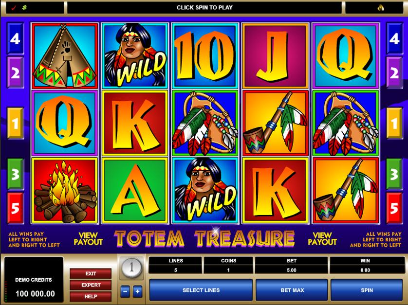 Totem Treasure Free Slots.png