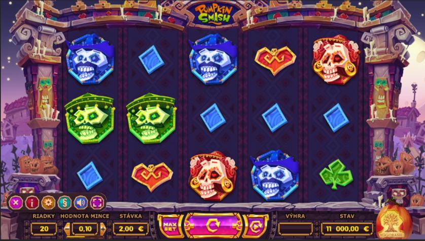 Spielen Sie Pumpkin Smash kostenlos im Demo Mode von Yggdrasil Gaming