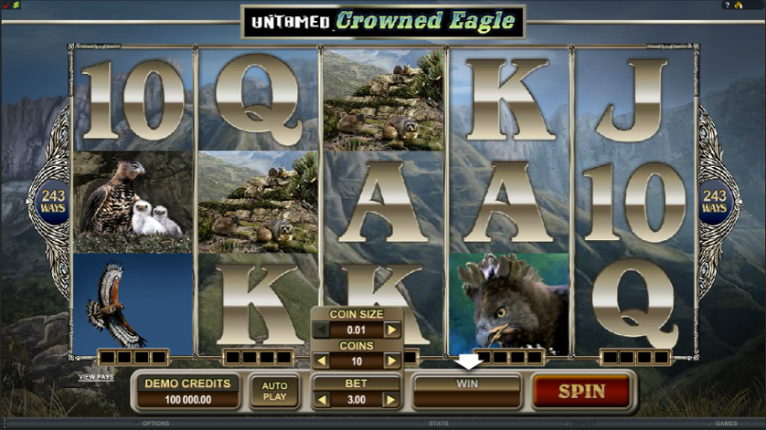 Untamed Crowned Eagle Free Slots.png