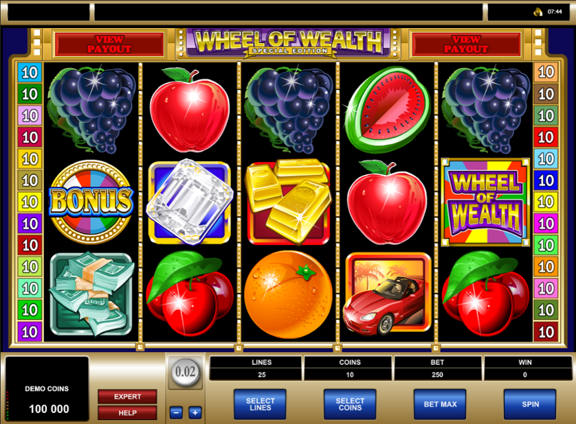 Wheel of Wealth Special Edition Free Slots.png