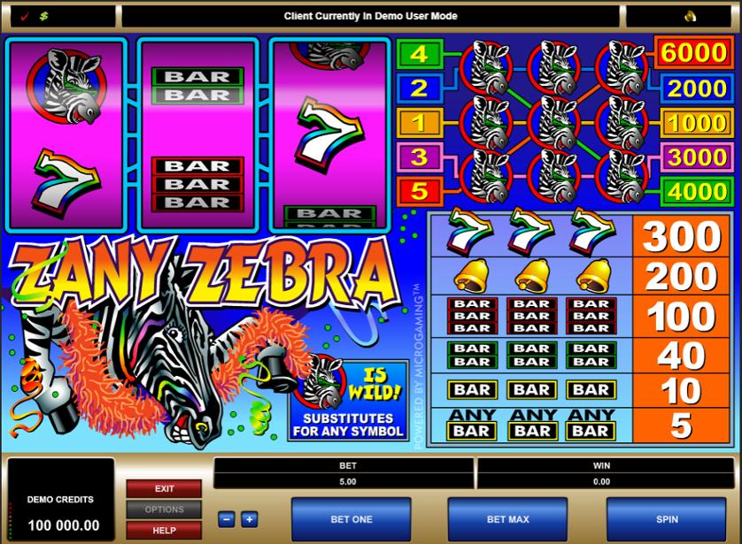 Zany Zebra Free Slots.png