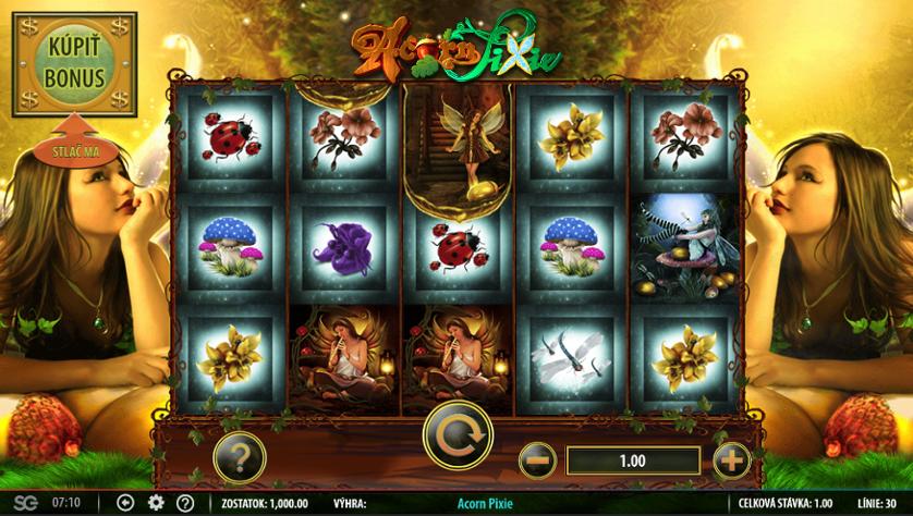 Acorn Pixie Free Slots.png