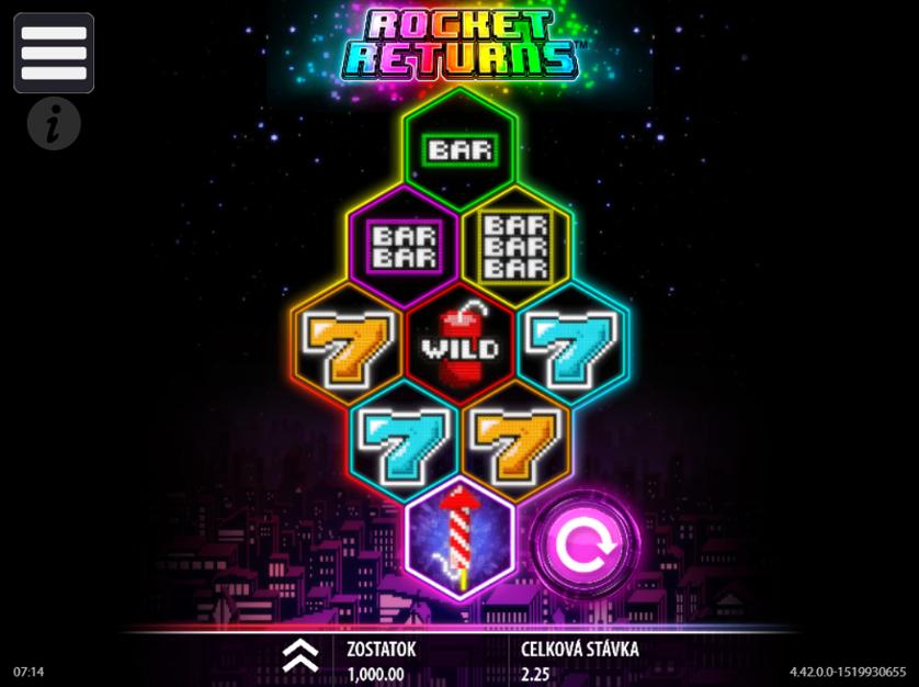 Rocket Returns Free Slots.png