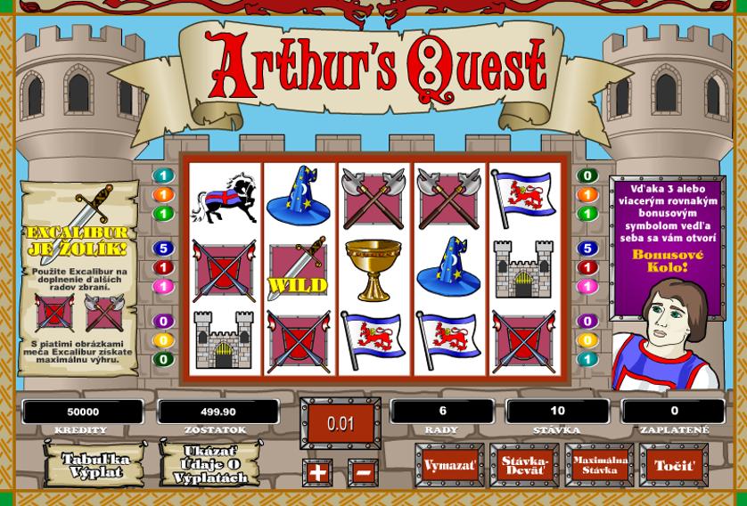 Arthur's Quest Free Slots.png