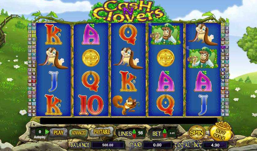 Cash n Clovers Free Slots.png