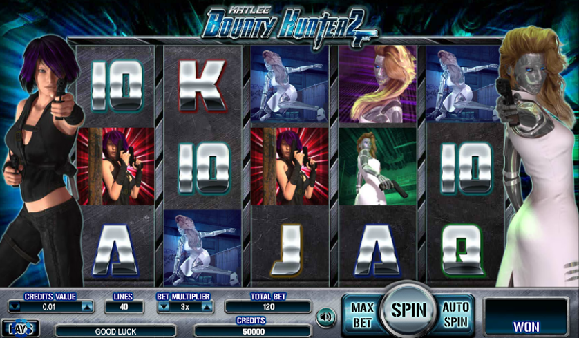 Kat Lee Bounty Hunter 2 Free Slots.png
