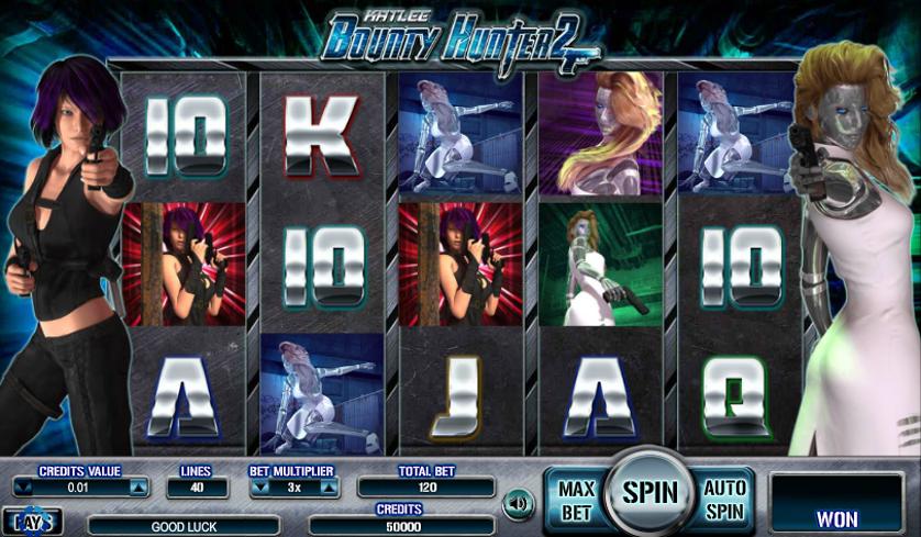 Kat Lee Bounty Hunter 2 Free Slots.png