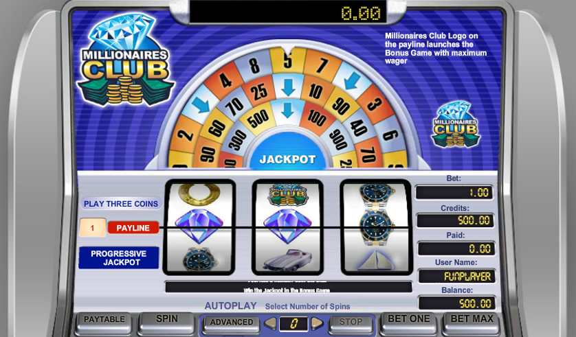 Millionaires Club 1 Free Slots.png