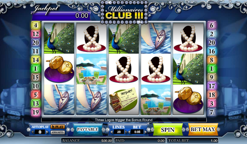 Spiele Millionaires Club 3 - Video Slots Online