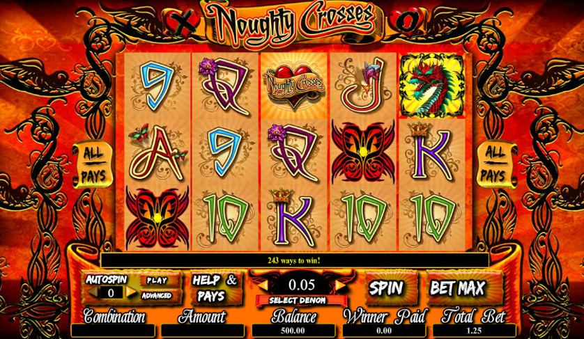 Noughty Crosses Free Slots.png