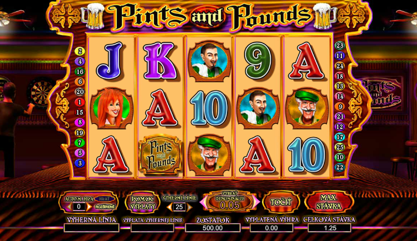 Pints and Pounds Free Slots.png