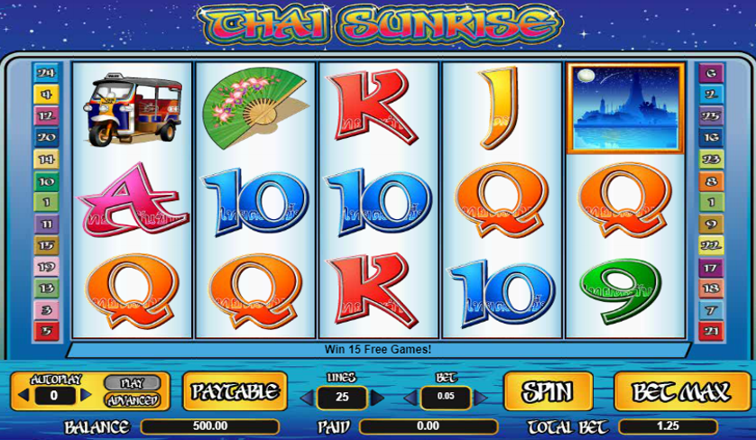 Thai Sunrise Free Slots.png