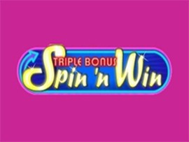 Triple Bonus Spin N' Win