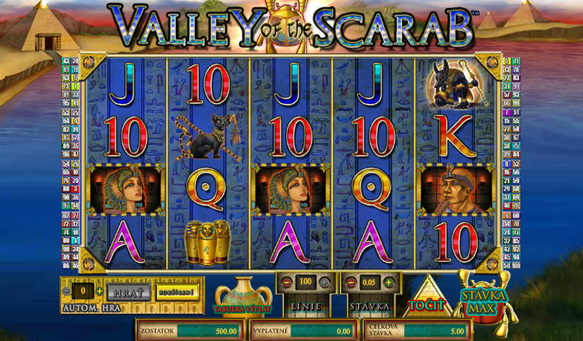 Valley of the Scarab Free Slots.png