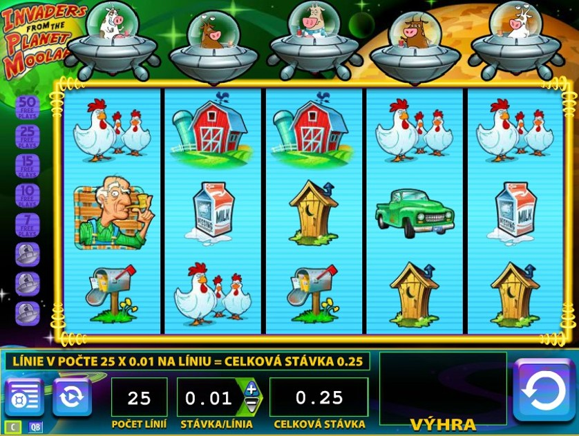 Invaders From The Planet Moolah Slot Download