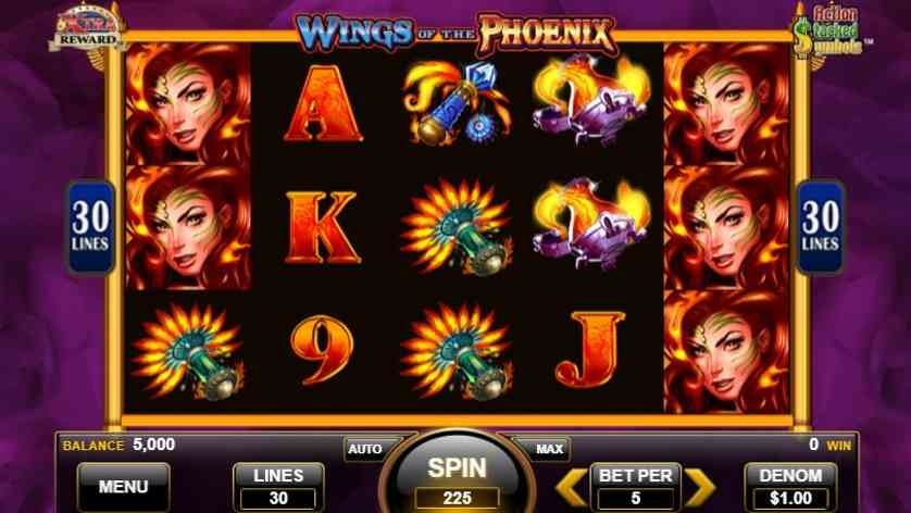 Wings of the Phoenix Free Slots.jpg