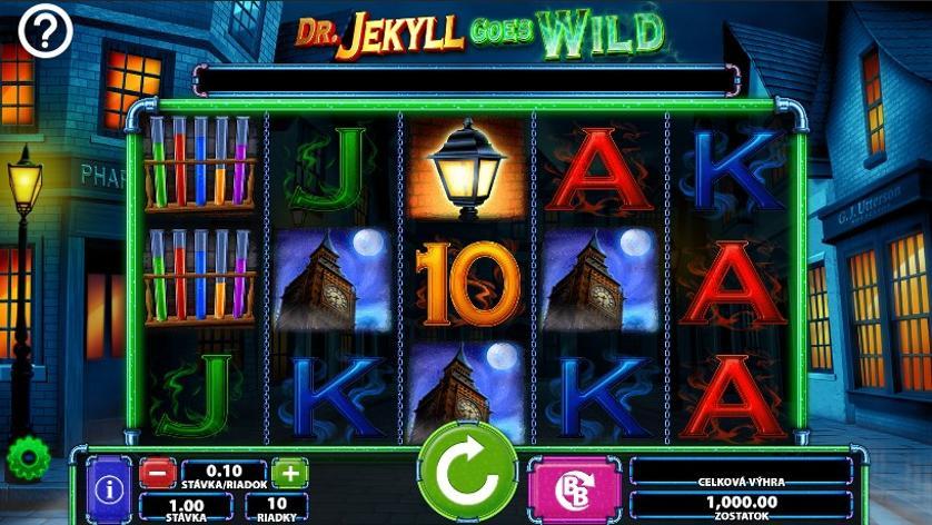 Dr. Jekyll Goes Wild Free Slots. Jekyll Goes Wild