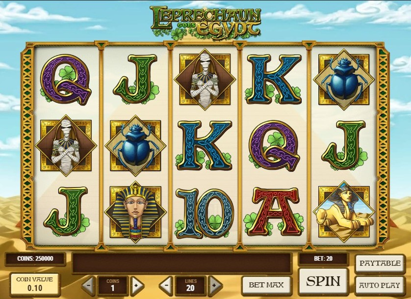 Leprechaun goes Egypt Free Slots.jpg