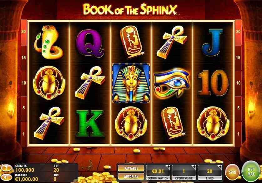 Book of the Sphinx Free Slots.jpg