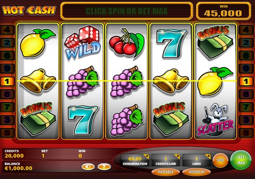 Play Free Hot Cash Game