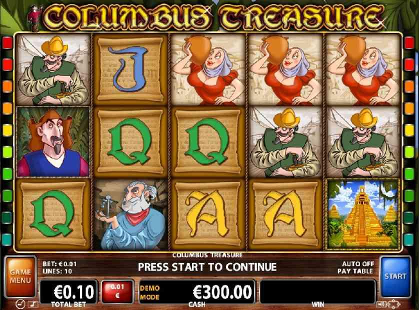 Columbus Treasure Free Slots.jpg