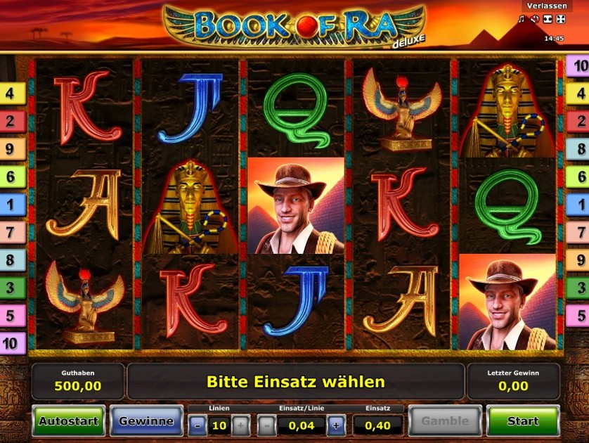 Book Of Ra Deluxe Slot Features