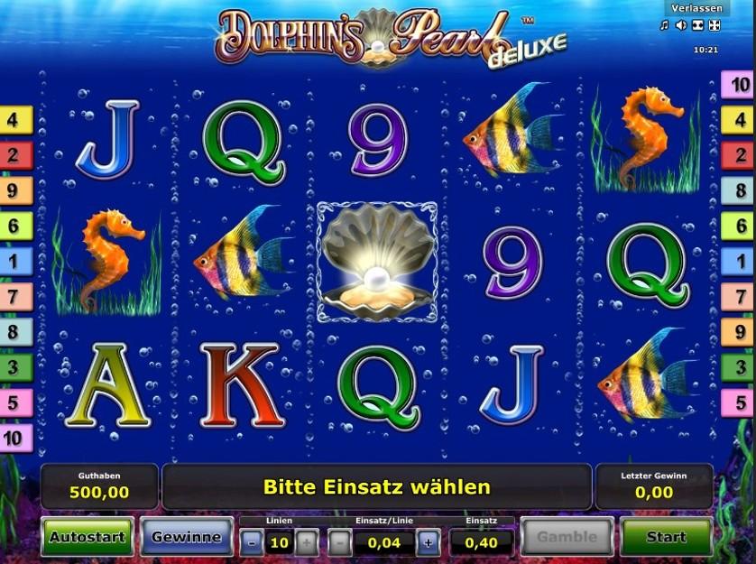 Gametwist Casino Dolphins Pearl Deluxe Spielen