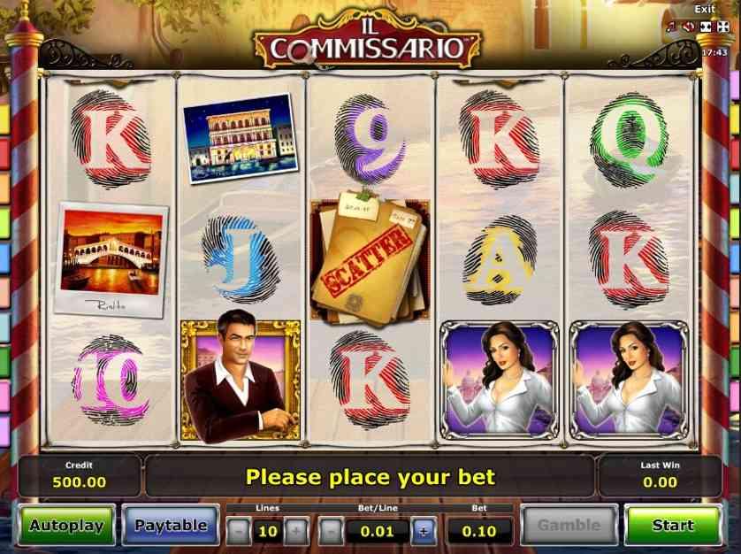 Il Commissario Free Slots.jpg