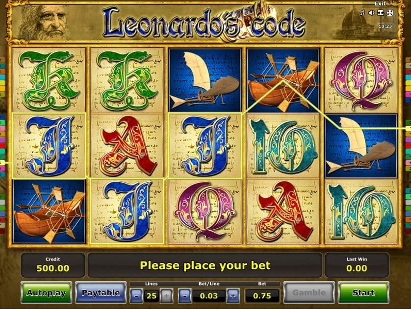 Leonardo's Code Free Slots.jpg