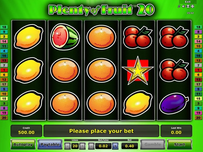 Plenty of Fruit 20 Free Slots.jpg