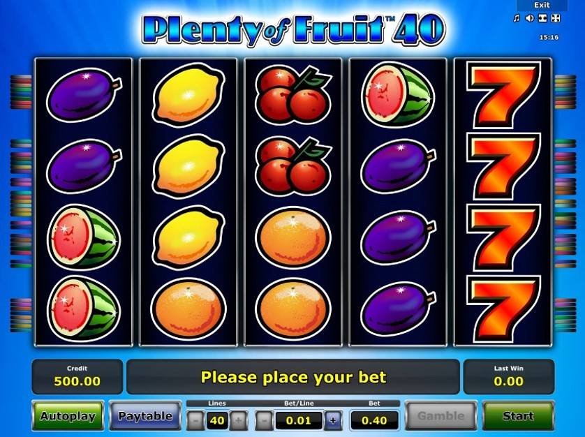 Plenty of Fruit 40 Free Slots.jpg