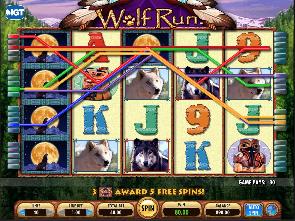 Wolf Run Bonus Stack