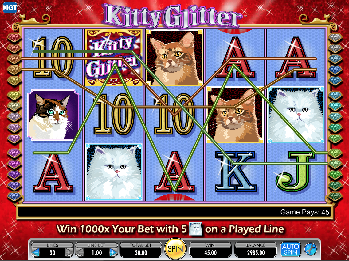 Kitty Glitter Win