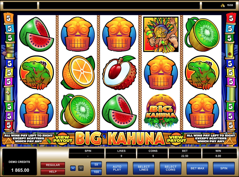 Big Kahuna Reels