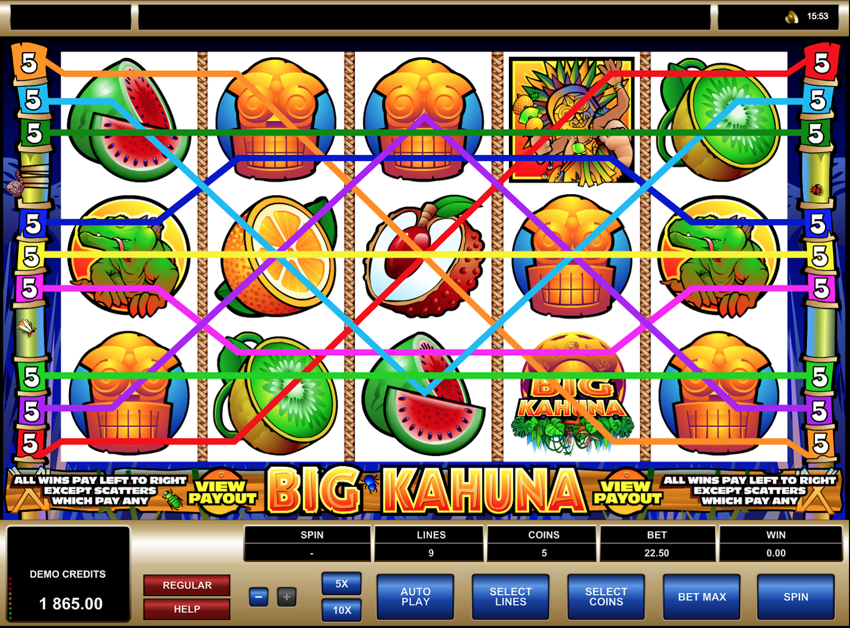 Big Kahuna Winlines