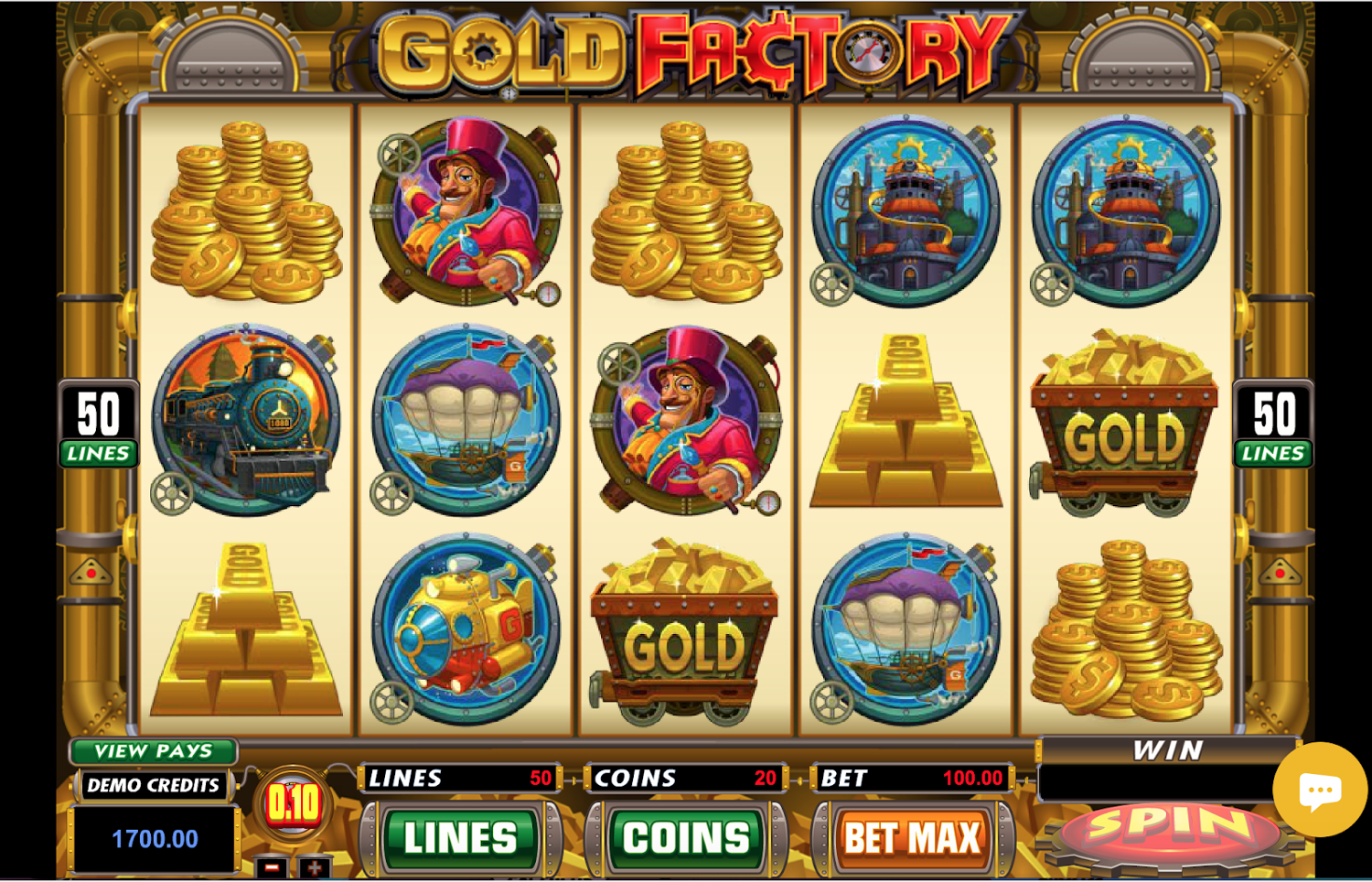 Gold Factory Gameplay