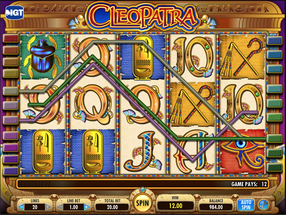 Cleopatra Low-pay Win