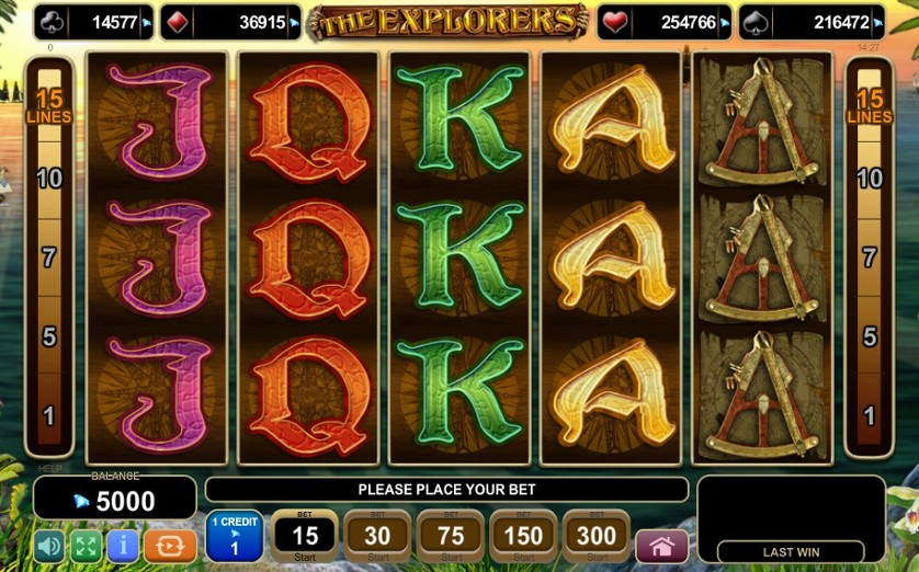 The Explorers Free Slots.jpg