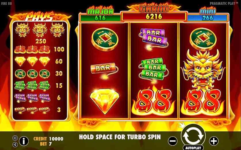 Fire 88 Slot Machine