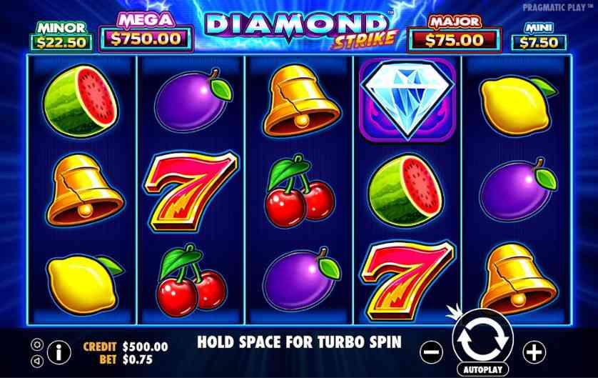 Spielen Sie Diamond Strike kostenlos im Demo Mode von Pragmatic Play
