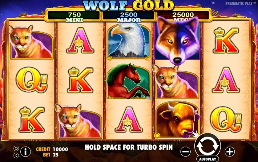 Slot Wolf Game
