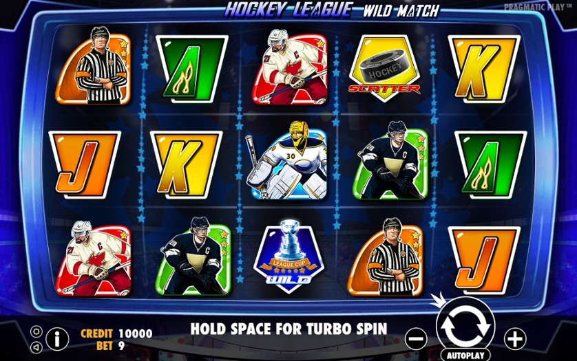 Hockey League Wild Match Free Slots.jpg